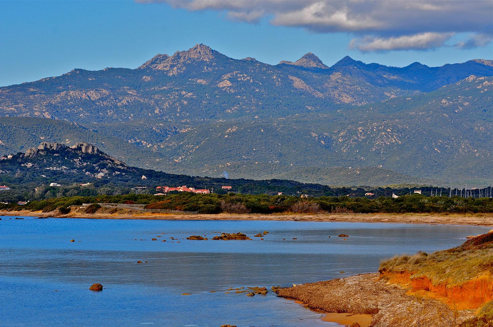 Plage de Figari sud Corse