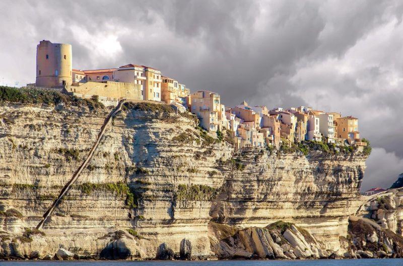 Bonifacio et l'escalier du Roy d'Aragon